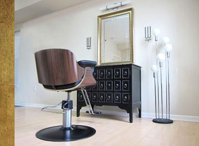 Weegee Hair Studio styling chair